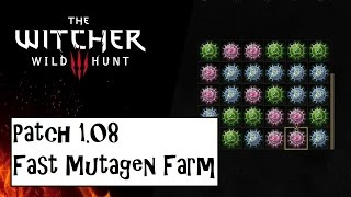 The Witcher 3  patch 1.08 fast Mutagen Farming (Red, Blue and Green)