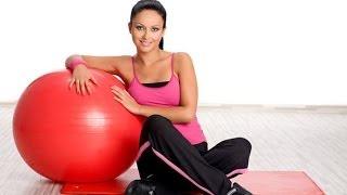 Фитнес с фитболом. GuberniaTV