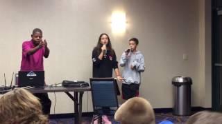 Angelia & JV Busta Move Karaoke