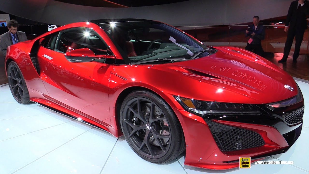Captivating 2016 Acura NSX   Exterior And Interior Walkaround   Debut At 2015 Detroit  Auto Show Design