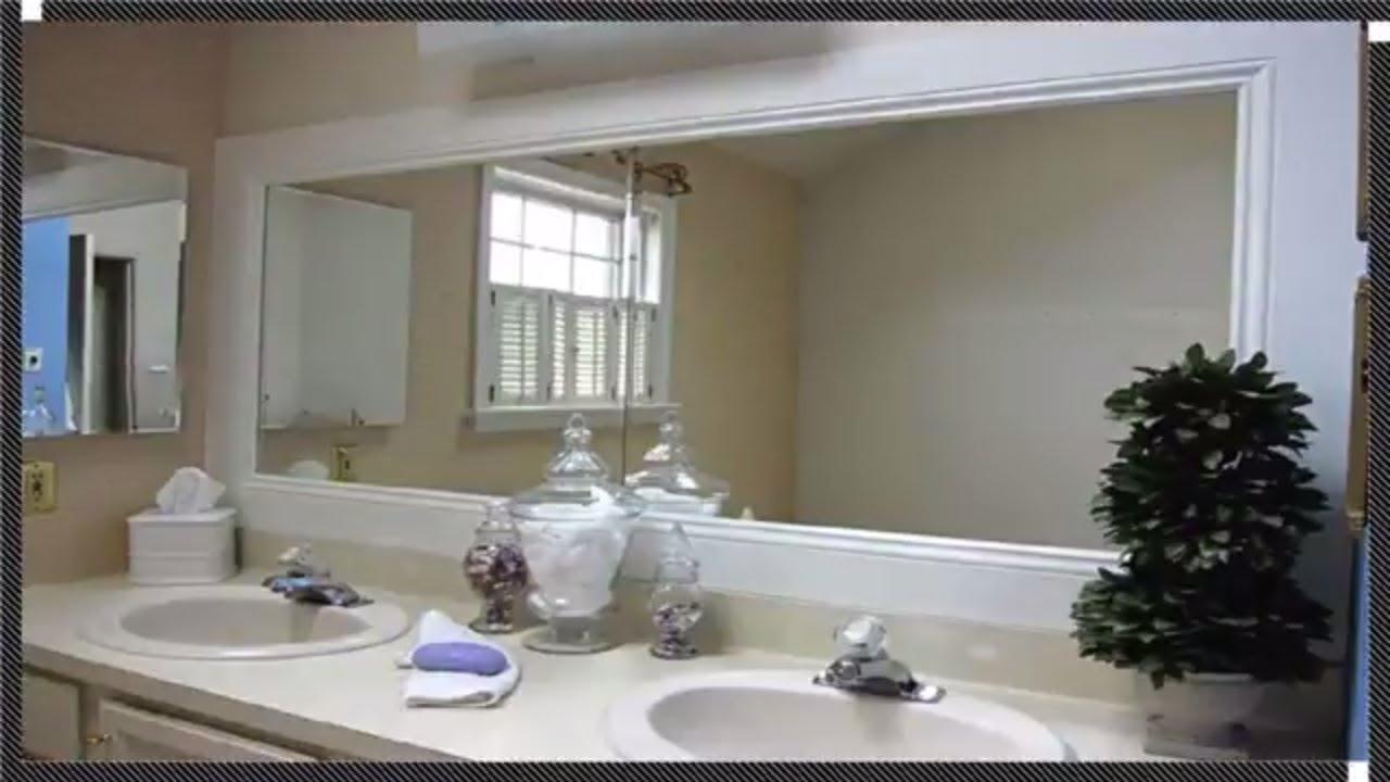Framed Bathroom Mirrors Ideas Youtube
