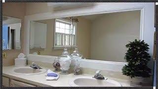 Framed Bathroom Mirrors Ideas