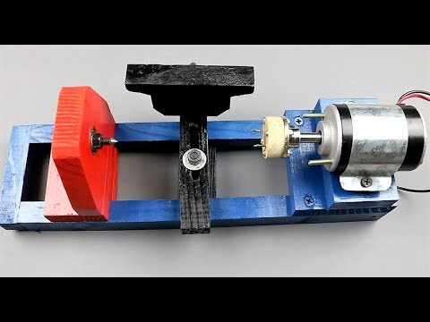 DIY 12V Lathe Machine – Best Mini Lathe on YouTube