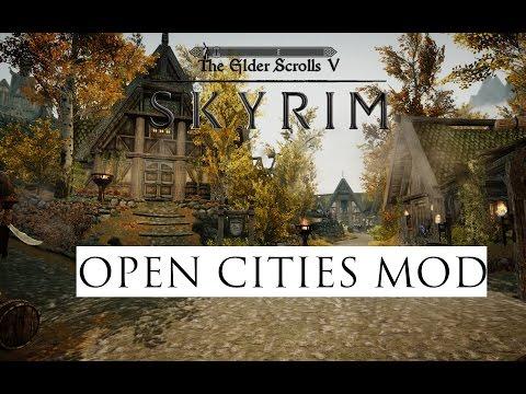 Skyrim Remastered (Mod Showcase) Open Cities