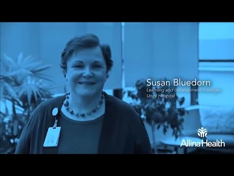 Susan Bluedorn, learning and development manager, Unity Hospital