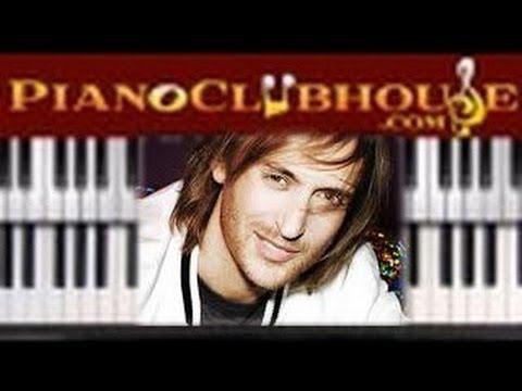 Titanium David Guetta Easy Piano Lesson Tutorial Lyrics