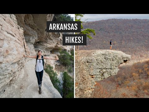 Hiking in NW Arkansas: Centerpoint to Goat Trail (Buffalo National River) + Whitaker Point Trail