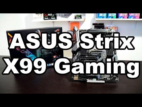 Tarjeta madre Strix x99 Gaming de ASUS para los verdaderos entusiastas
