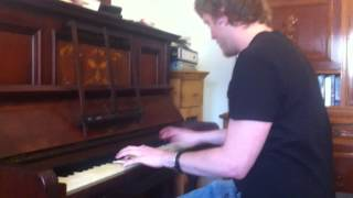 THE BEST OF TIMES - DREAM THEATER - guitar solo - piano version