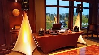 My DJ Set Up From Last Weekend - Colors & Lighting