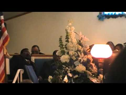 Mother Willa Cawthon's Homegoing Service ~ I'll Rise Again - Elder Robinson