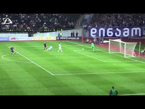 FC Dinamo Tbilisi 0:2 FC Steaua Bucurest [Highlights]