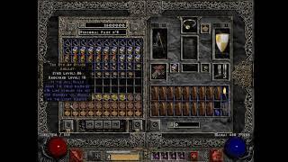 Diablo 2 - 10 000 pit run vol. 2 loot identification