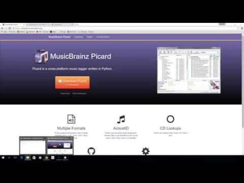 Tagging music using MusicBrainz Picard for adding to Kodi