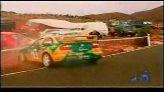 Accidente David García - Rally de Maspalomas 2004