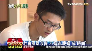 【TVBS】社會風氣改變 不婚族、晚婚成「時尚」