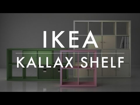 how to assemble an ikea kallax expedit shelving unit 2x2 youtube. Black Bedroom Furniture Sets. Home Design Ideas
