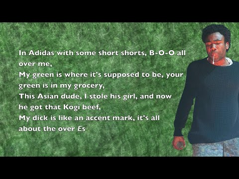 Childish Gambino - Bonfire - Lyrics - YouTube