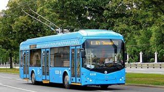Последний день работы Троллейбус АКСМ 321 маршрут 4 Метро Университет - К/т Ударник Москва