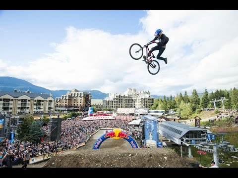 Best slopestyle mountain biking from Red Bull Joyride 2014