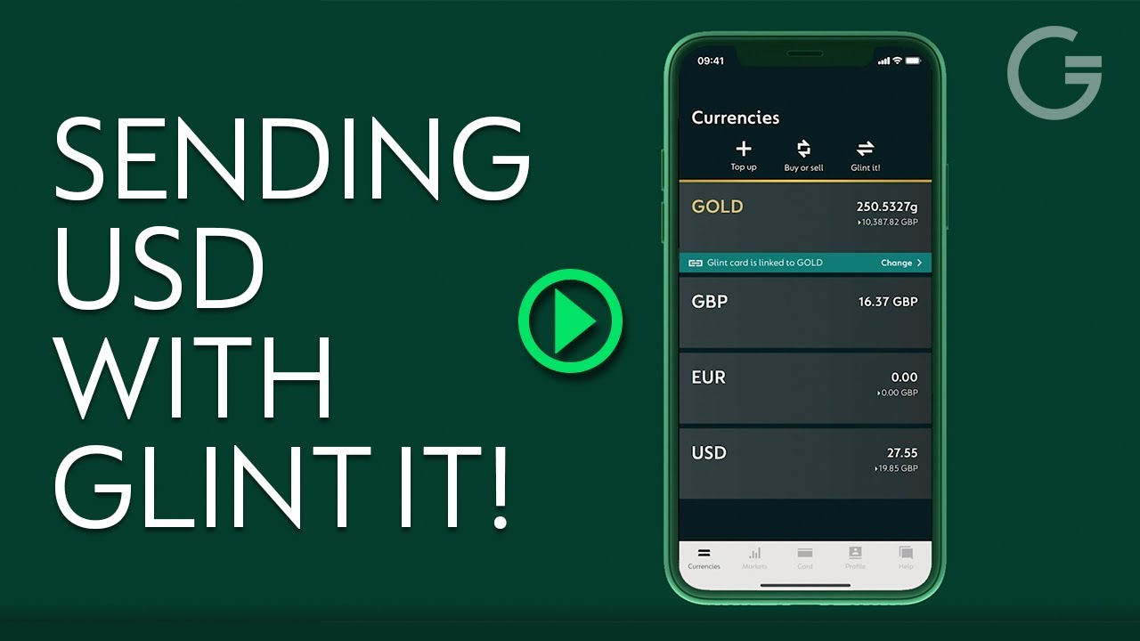 Download Sending USD with Glint It!