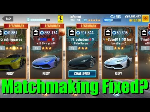 csr racing matchmaking