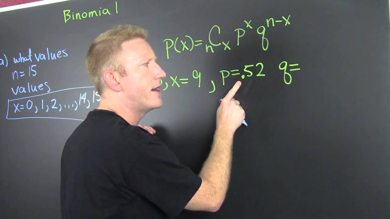 Binomial Distribution Word Problem 1