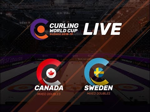 Canada v Sweden - Mixed Doubles - Curling World Cup First Leg - Suzhou