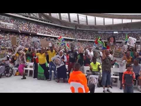 Memorial celebration Madiba - Cape Town Stadium