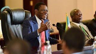 En visite en Ouganda, Obiang Nguema regrette Kadhafi et prône la solidarité africaine