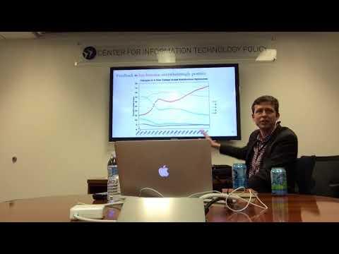 CITP Luncheon Speaker Series: John Horton - Reputation Inflation