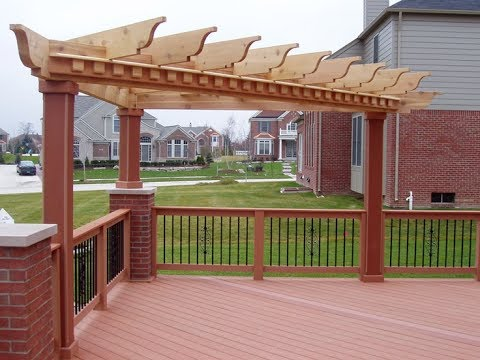 Best Corner Pergolas to Make Your Yard Look Amazing - YouTube on Triangle Shaped Backyard Design id=71169