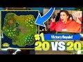 *new* Huge 20 Vs 20 Game Mode! - Fortnite Battle Royale