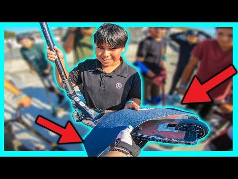 Giving FREE SCOOTER PARTS to Kids in Need!