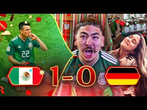 REACTING TO MEXICO VS GERMANY 2018 WORLD CUP