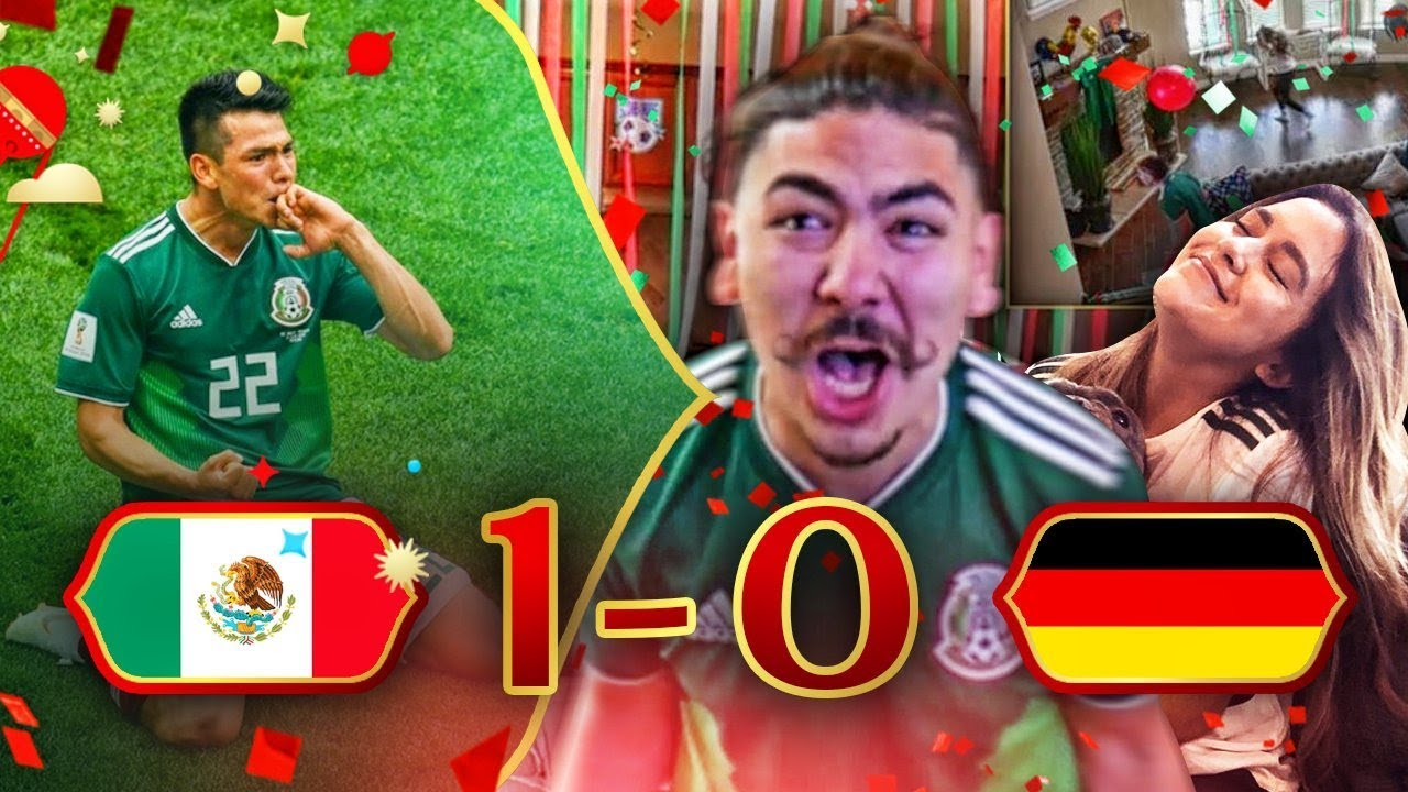 REACTING TO MEXICO VS GERMANY!! 2018 WORLD CUP