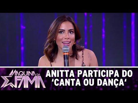 Máquina da Fama (26/12/16) - Anitta participa do jogo 'Canta ou Dança'