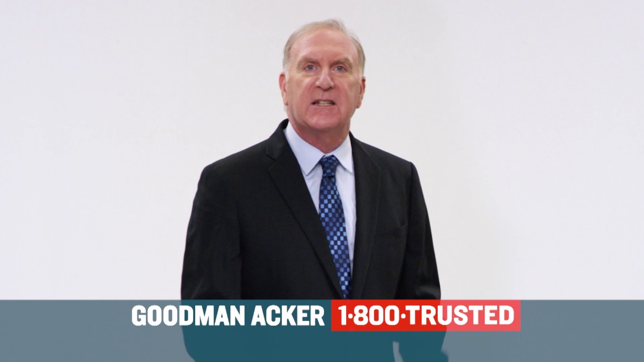 Goodman Acker Law Firm TV Commercial   1 800 TRUSTED Team Trust 30 Spot