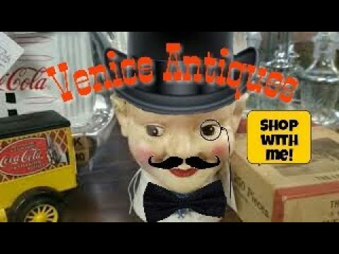 Picking Venice Antique Mall/ Shop With Me/ Reselling