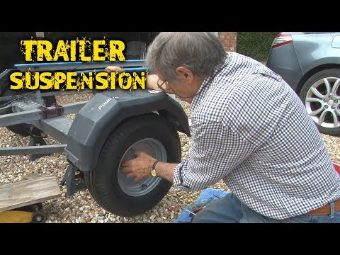 How to Change a Trailer Suspension Unit on your Boat Trailer