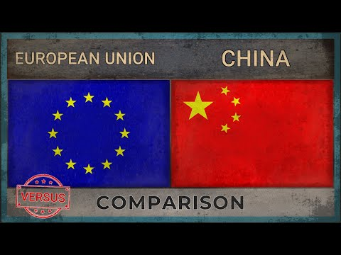 EUROPEAN UNION vs CHINA ✪ Military Comparison [2018]