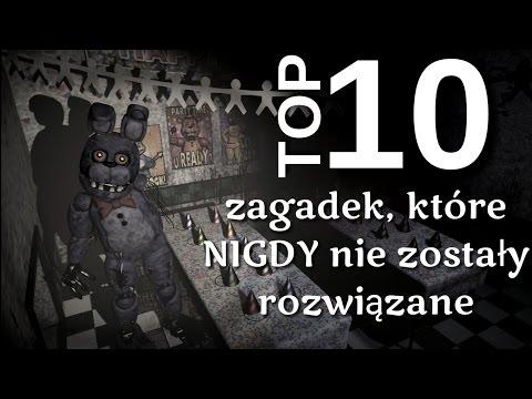 TOP 10 Zagadek, które NIGDY nie zostały wyjaśnione- Ciekawostki #2