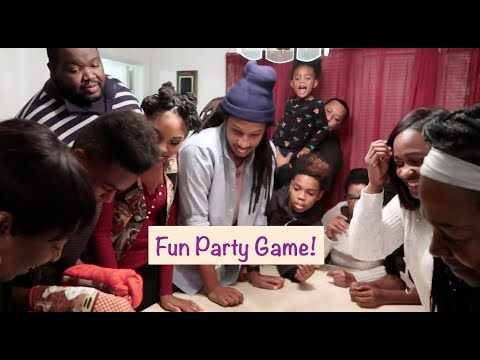 Best Christmas Party Game Ever | Mitten Game