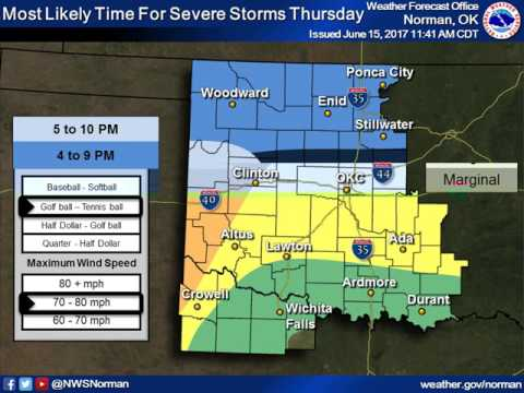 Severe Weather Briefing Jun 15 2017