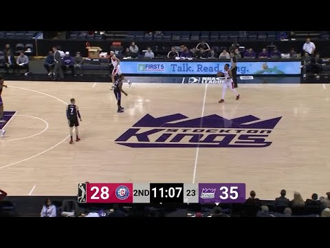 Amir Coffey With 28 Points Vs Stockton Kings Youtube