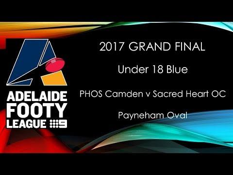 Adelaide Footy 2017 Grand Final - U18 Blue