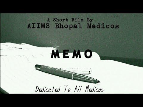 MEMO | Short Film by AIIMS Bhopal Medicos | MBBS Life