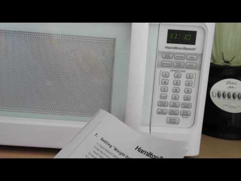 Hamilton Beach Microwave Oven How To Use P100N30ALS3B