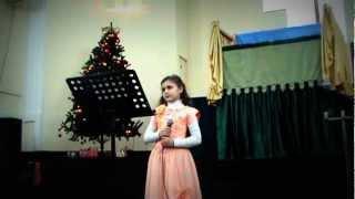 Рождественская песня. Андреева Алина.