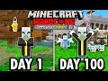 I Survived 100 Days as an Evoker in Hardcore Minecraft... Here's What Happened